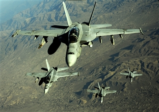 Wild Ride on an F/A-18 Low Level Flight