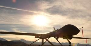 MQ-1 Predator sits on the flight line Dec. 8, 2016, at Creech Air Force Base