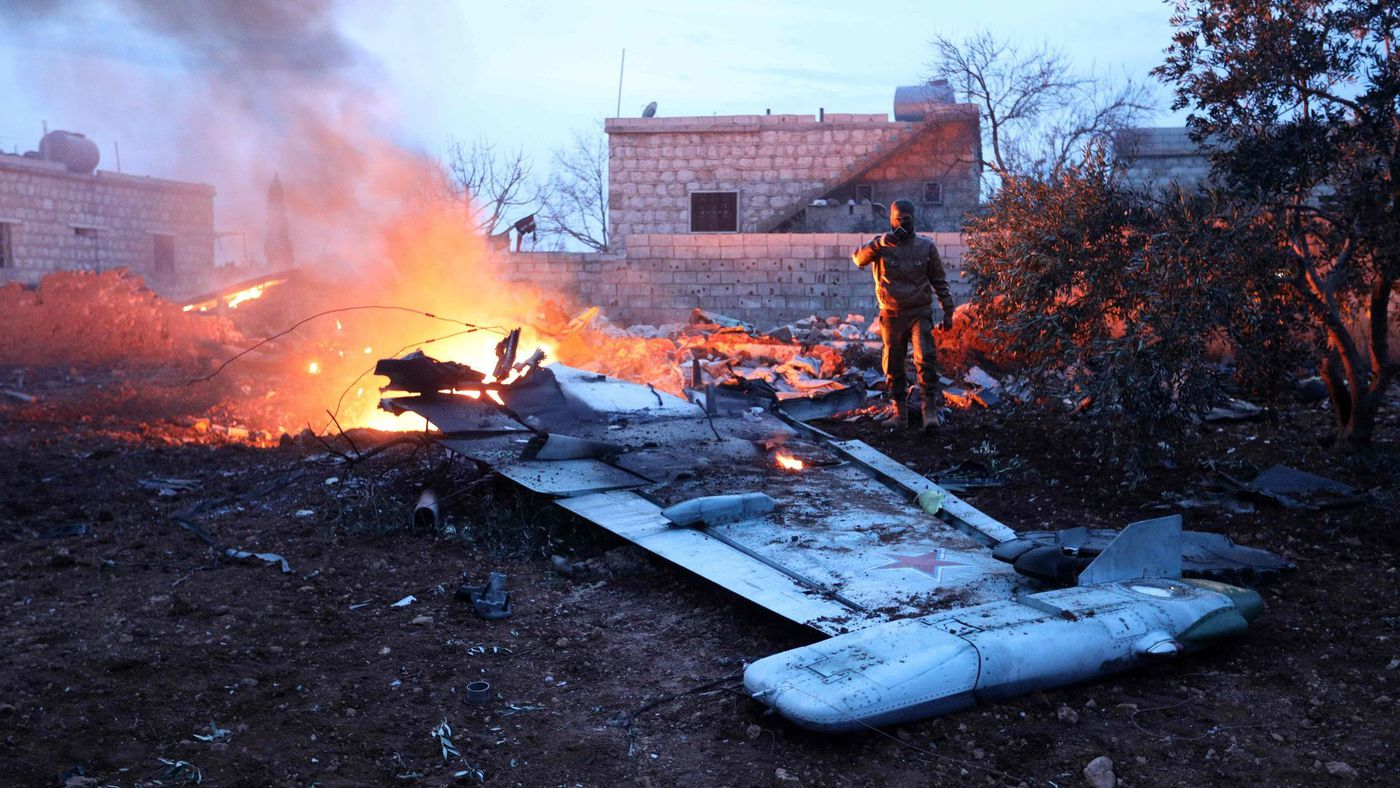 Syrian Rebels Shoot Down Russian Aircraft Killing Pilot