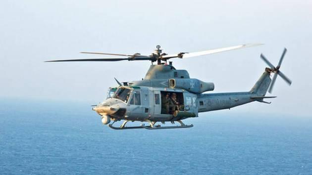 Helicopter Rotor Blade Hits US Navy Sailor at Camp Pendleton