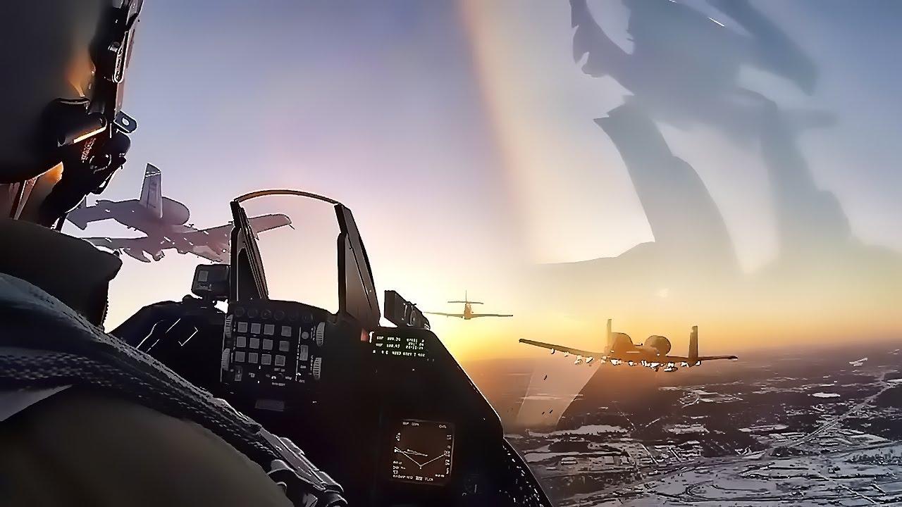 superbowl lii flyover 2018 video