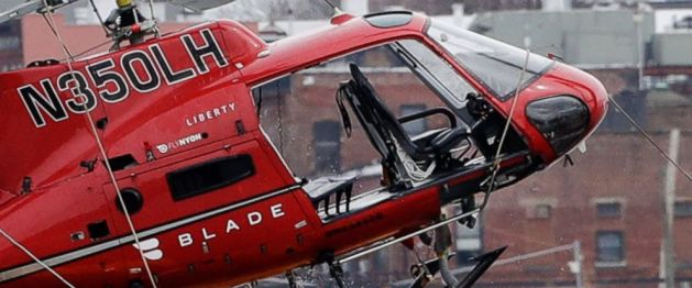 New York River Helicopter Crash Victims Family Sues Charter Operator