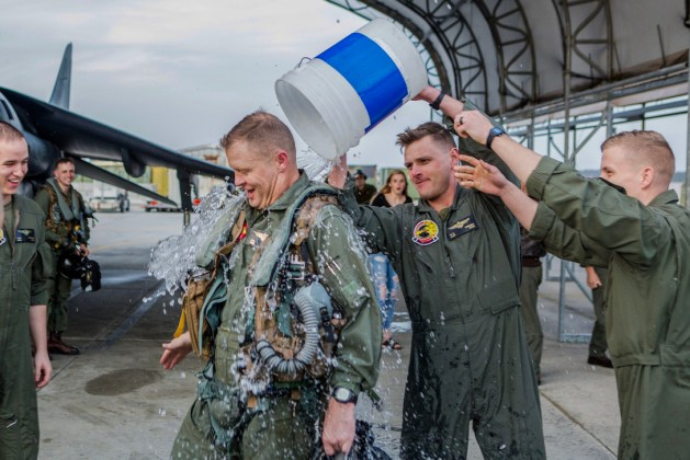 Final Flight Tradition! Col. John A. Rahe Retires from the United State Marine Corps