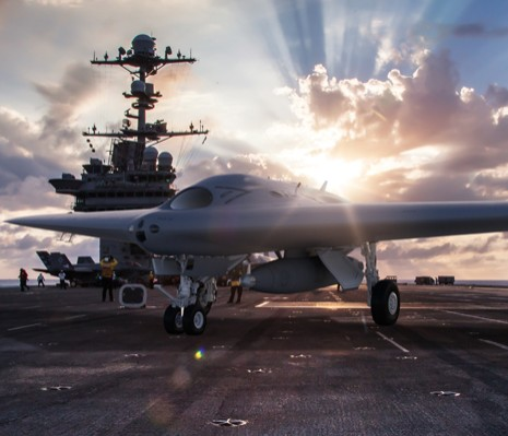 Skunk Works® purpose-built MQ-25 unmanned tanker