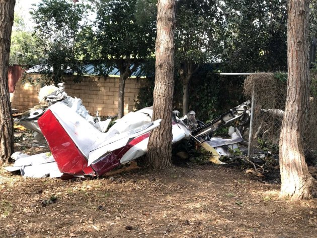 home built plane crash two dead california