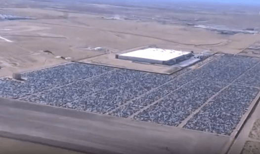 "Aerial Drone Footage of Volkswagen's ""Diesel Buyback Program' Boneyard"