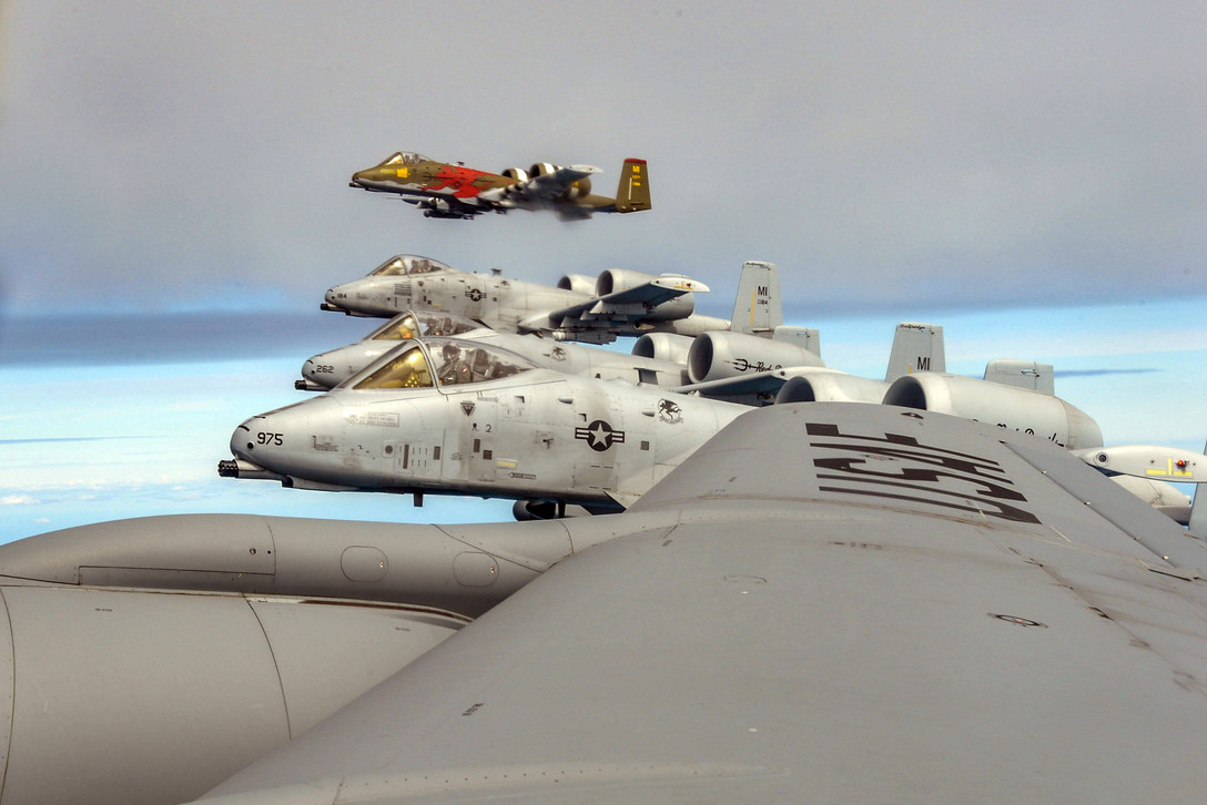 A-10 Thunderbolt II Aircraft Participate in Saber Strike 18 in Latvia