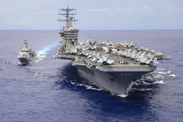 USS Nimitz 50 years old