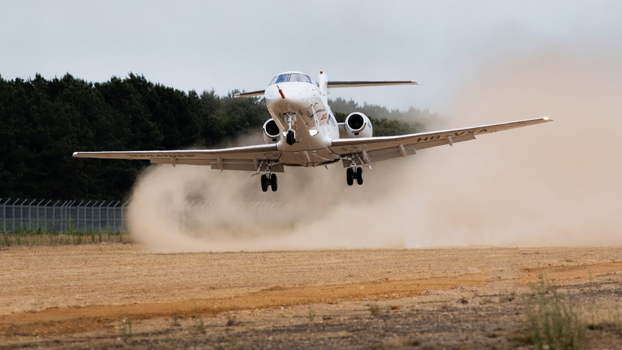 Land on an Unpaved Runway? The Pilatus PC-24