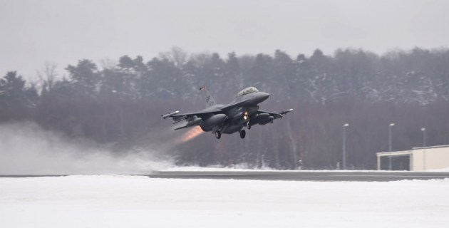 The Pic of the Day: F-16 Fighting Falcon in Spangdahlem, Germany