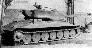 IS-7 Tank – Object 230 Wooden Mock Up