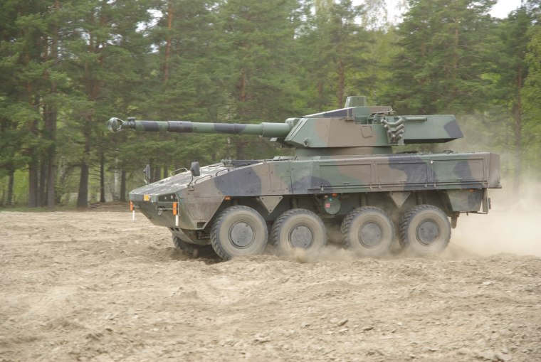 Patria AMV CT-CV 105HP Turret