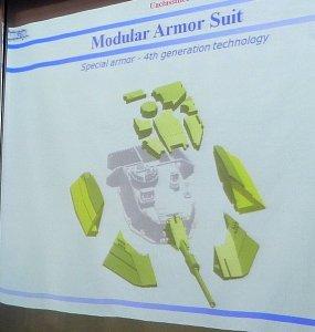 Merkava Mk 4 Tank Modular Turret Armor