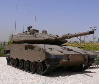 Merkava Mk 4 Tank at Yad la-Shiryon Museum image 1