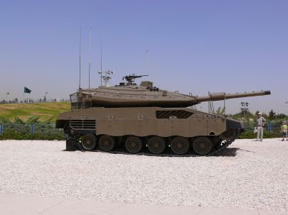 Merkava Mk 4 Tank at Yad la-Shiryon Museum image 2