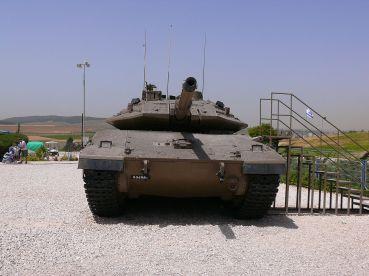 Merkava Mk 4 Tank at Yad la-Shiryon Museum image 3