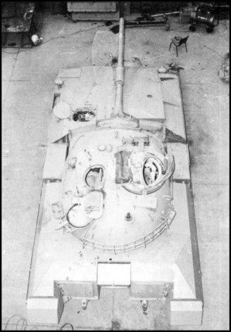 Merkava Tank Prototype M48 Patton Turret