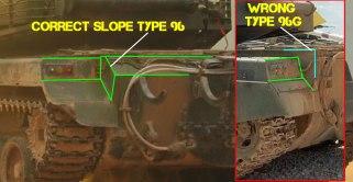Type 96A Tank Rear