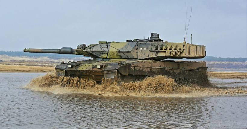 Leopard 2A5DK Tank