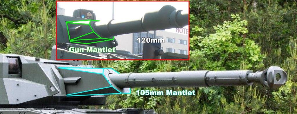 CV90105 XC-8 105HP Main Gun