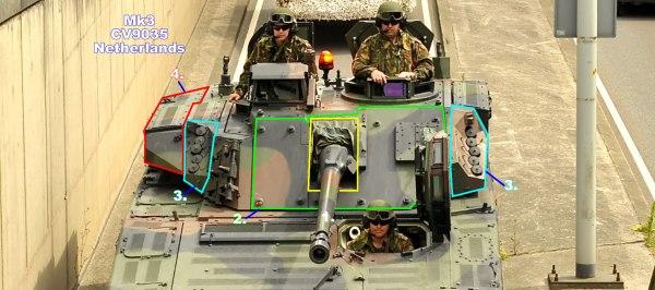 CV9035 Fighting Vehicle Description