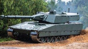Combat Vehicle 90 – CV90 XC-8 105HP Turret