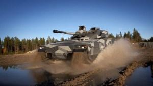 Combat Vehicle 90 model CV9035 Offered for Land 400 Prgram