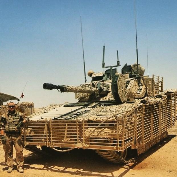 Danish CV9035DK ISAF Afghanistan