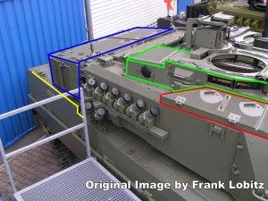 Leopard 2E Tank Features