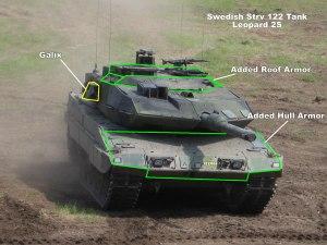 Strv 122 Tank Armor Upgrades