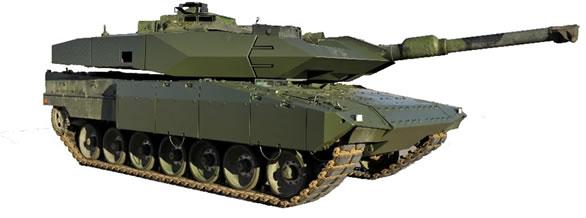 Strv 122 Tank - Model Strv 122B+