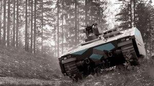 CV90 Armadillo APC