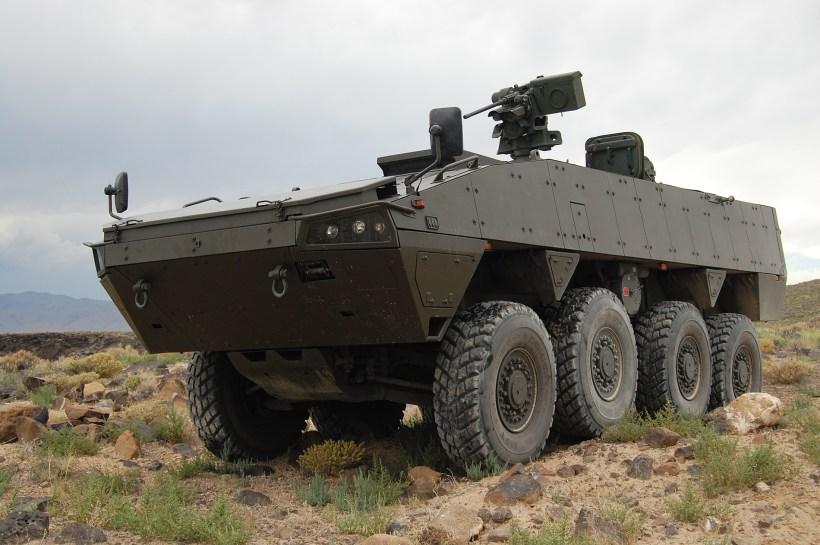HAVOC MPC 8x8 Fighting Vehicle