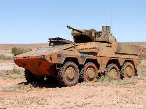 Rheinmetall Boxer IFV With Lance Modular Turret