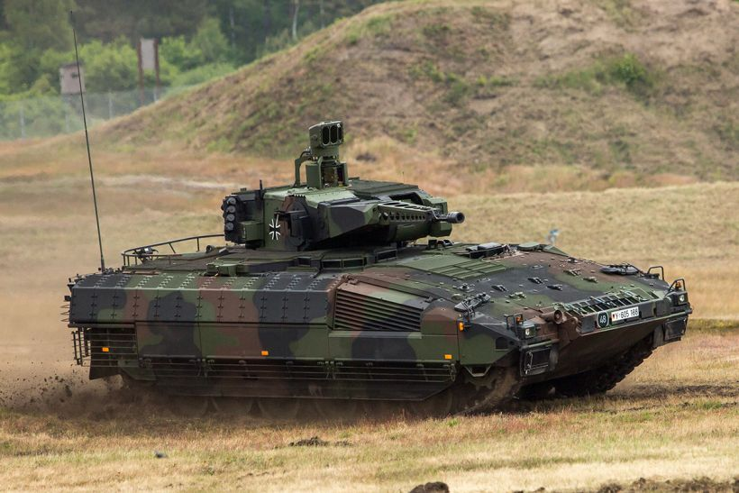 The German Puma IFV SPz