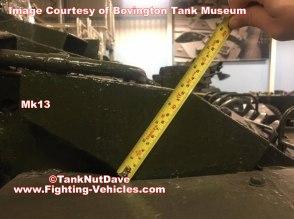 Centurion Tank Mk 13 Armor Thickness