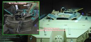 Centurion Tank Mk 8 New Commanders Cupola
