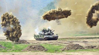 South Korean K1 Tank