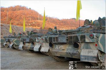 South Korean K1A1 Tank