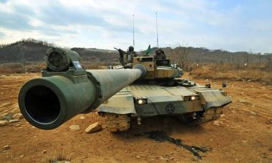 K2 Black Panther 120mm L55 Smoothbore Main Gun