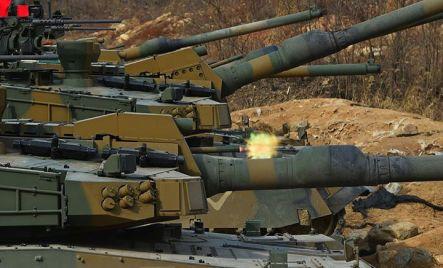 K2 Black Panther Tank Coaxial Machine Gun