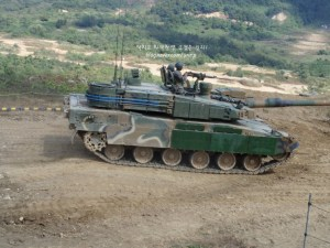 K2 Black Panther Tank with ERA Armor