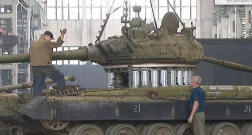 T-80B Tank Turret