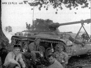 AMX-13-75 Light Tank FL-11 turret