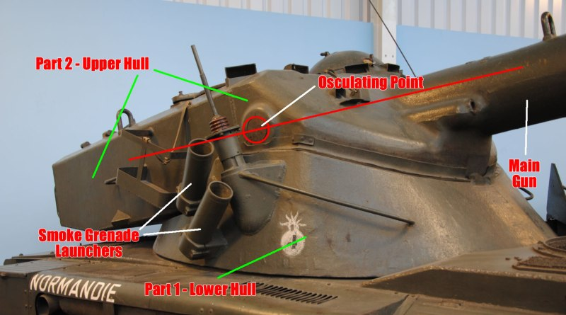AMX-13-75 Light Tank Oscillating Turret