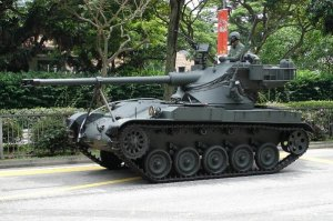 AMX-13-75 Light Tank Singapore the AMX-13SM1