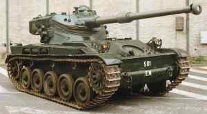 AMX-13-75 Light Tank Upgrade with Cockerill 90mm Main Gun