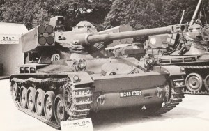AMX-13-75 Light Tank With HOT Anti-Tank Guided Missile