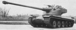 French AMX-50 Tank Model AMX-50B