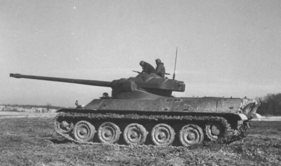 French AMX-50 Tank - Second AMX-50 100 Prototype built from scratch